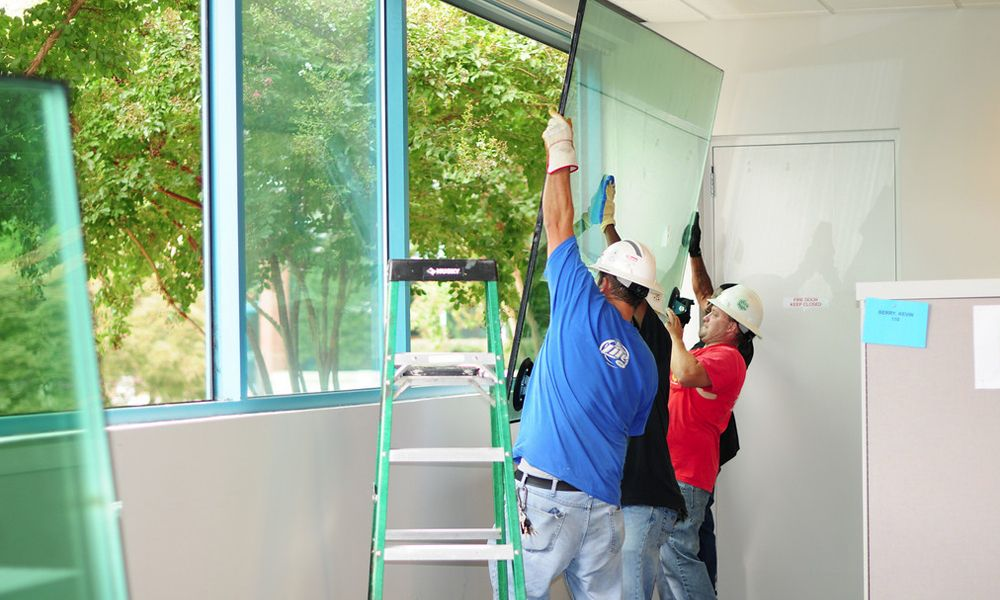 Window glass installers near me